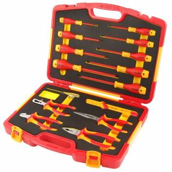 Комплект изолированных инструментов 15 предметов
