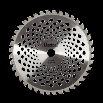 Диск для садового триммера 255х25.4 мм 40 ТВС зубцов Гартнер