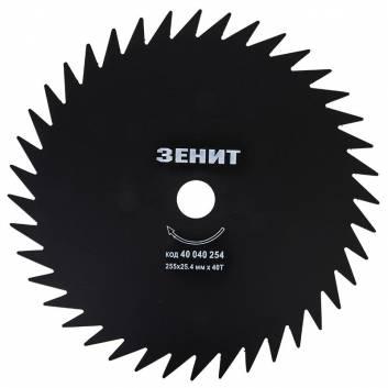 Диск для садового триммера 255х25.4 мм 40 зубцов