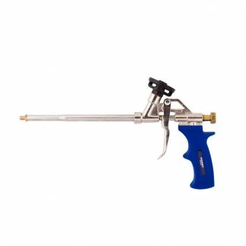 Пістолет для монтажної піни нікель 325 мм Зенит Профи