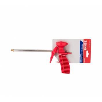 Пістолет для монтажної піни пластиковий 260 мм Зенит