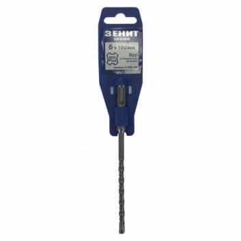 Бур SDS-Plus 6х160мм з 4-ма ріжучими кромками