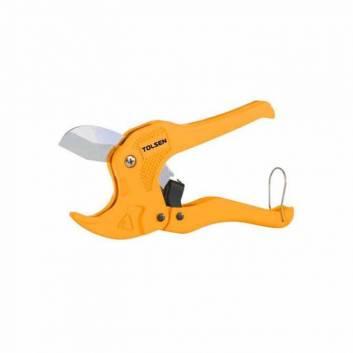 Ножиці 200 мм для різки ПВХ труб з автоматичним розкриттям 3-42 мм Толсен