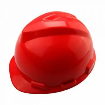 Защитный шлем пластиковый Красный Толсен