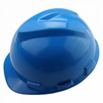 Защитный шлем пластиковый Синий Толсен