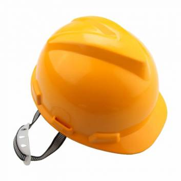 Защитный шлем пластиковый Желтый Толсен