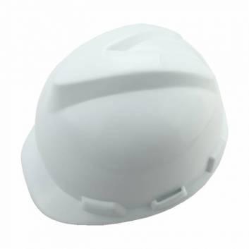 Защитный шлем пластиковый Белый Толсен