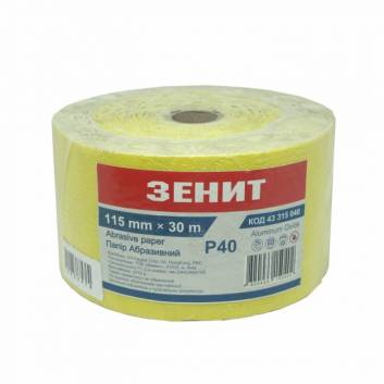 Папір Абразивний 115 мм х 30 м Стандарт з. 40