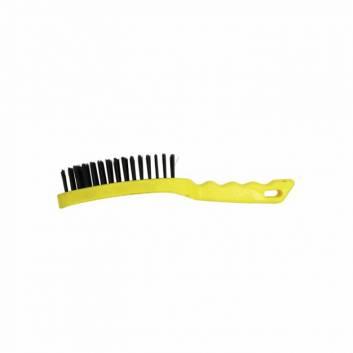 Щетка ручная 6-рядная, пластиковая ручка Зенит
