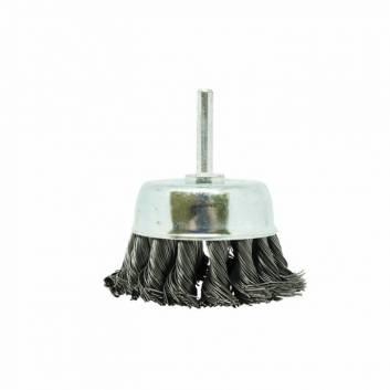 Щітка Чашка плетена сталь 75 мм, 0.5 мм Зенит