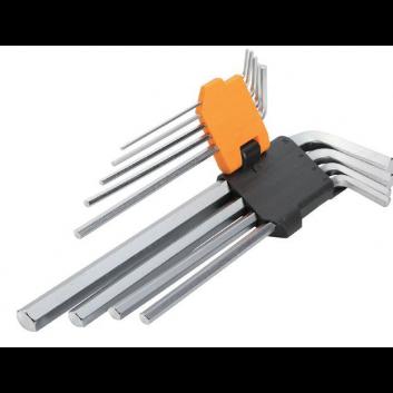 Комплект шестигранних закруглених ключів 9 шт. 1.5-10 мм