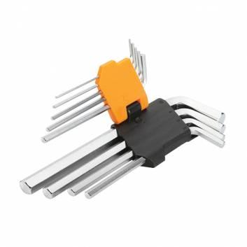 Комплект шестигранних ключів 9 шт. 1.5-10 мм
